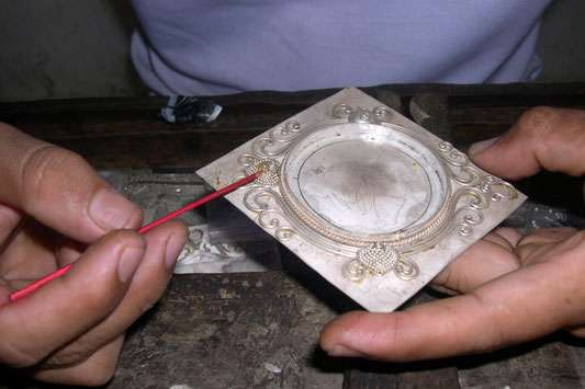 How to make hand made Bali silver jewelry