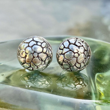 ER 14031 B-(HANDMADE 925 BALI SILVER EARRINGS)